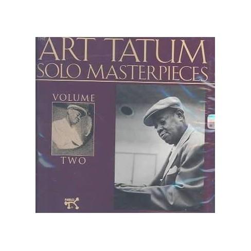 Art Tatum - Art Tatum Solo Masterpieces Volume 2 (CD) - image 1 of 1