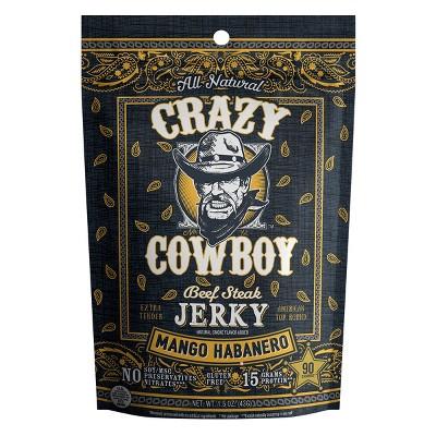 AriZona Crazy Cowboy Mango Habenero Beef Jerky - 1.5oz Stick