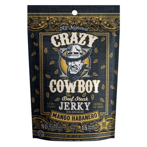 AriZona Crazy Cowboy Mango Habenero Beef Jerky - 1.5oz Stick - image 1 of 1