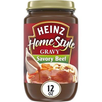 Heinz Home Style Savory Beef Gravy 12oz
