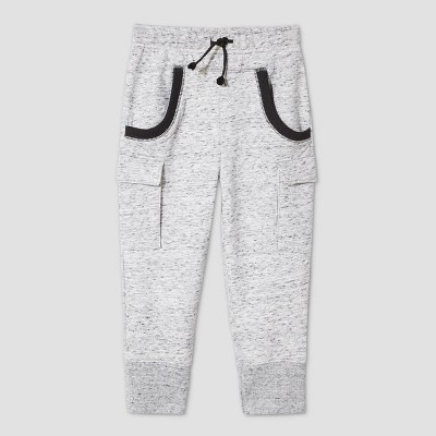 Toddler Boys' Cargo Jogger Pull-On Pants - Cat & Jack™ Gray 4T