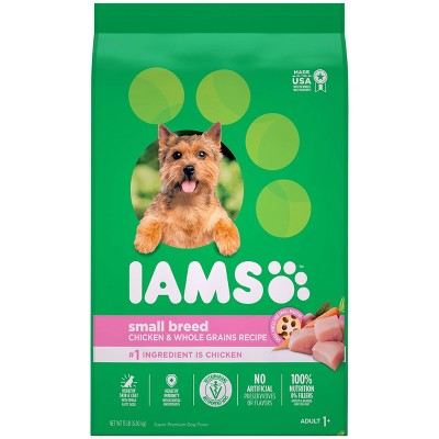 Iams Proactive Health Chicken & Whole Grains Recipe Small Breed Adult Premium Dry Dog Food