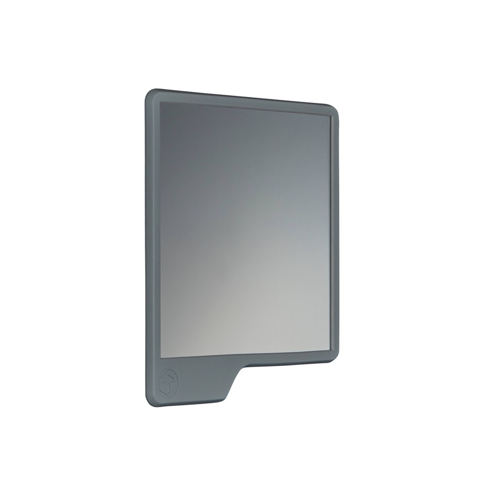Image of The Oliver Shower Mirror Gray - Tooletries