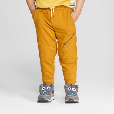 Toddler Boys' Genuine Kids from OshKosh® French Terry Pants - Gold 18 M