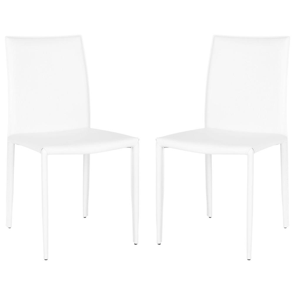 Geneva Dining Chair (Set of 2) - Safavieh, White