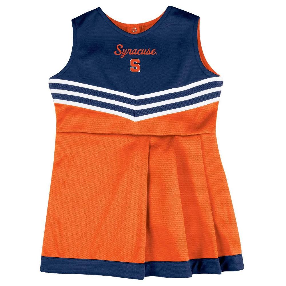 Ncaa Syracuse Orange Girls 39 2pc Cheer Set 18m