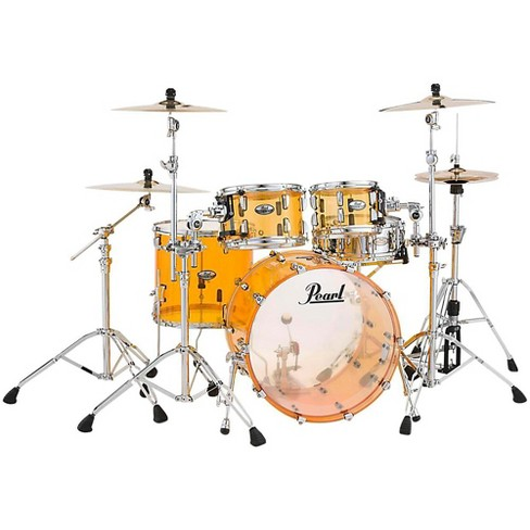 Pearl Crystal Beat 4-Piece New Fusion Shell Pack Tangerine Glass - image 1 of 1