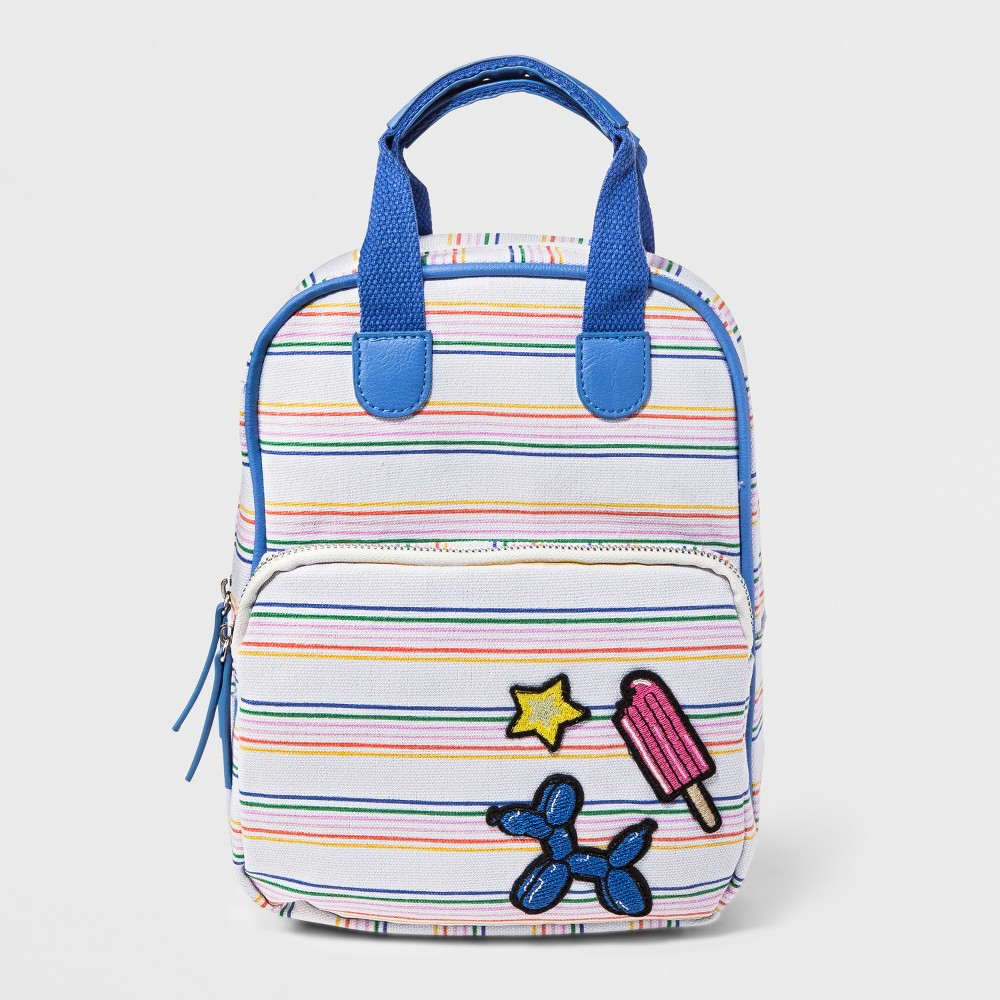 Girls' Stripe Backpack - Cat & Jack Purple