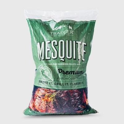 Traeger Mesquite Wood Pellets - 20lb bag