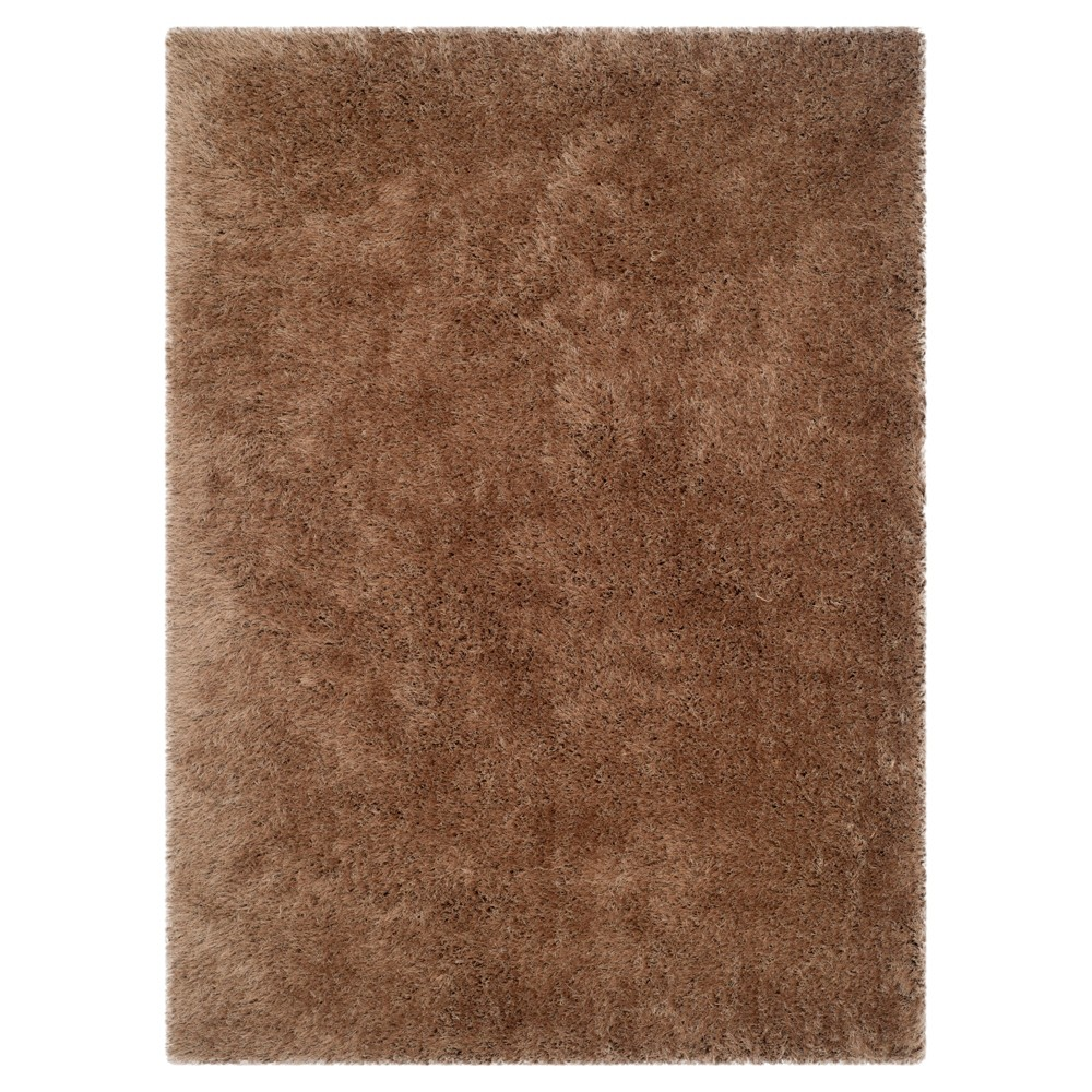 Taupe (Brown) Solid Tufted Area Rug - (5'x8') - Safavieh