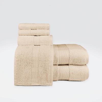6pc Hempstead Towel Set - Loft By Loftex