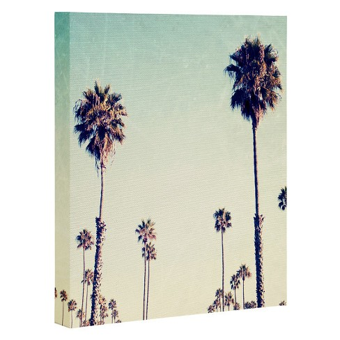 Bree Madden  California Palm Trees Art Canvas - image 1 of 1