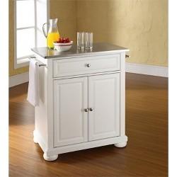Americana Kitchen Island Antique White - Home Styles : Target
