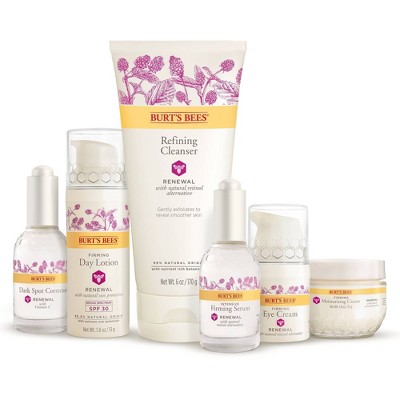 Burt's Bees Renewal Skin Care Collection