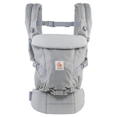 Ergobaby Adapt Ergonomic Multi-Position Baby Carrier - Pearl Gray