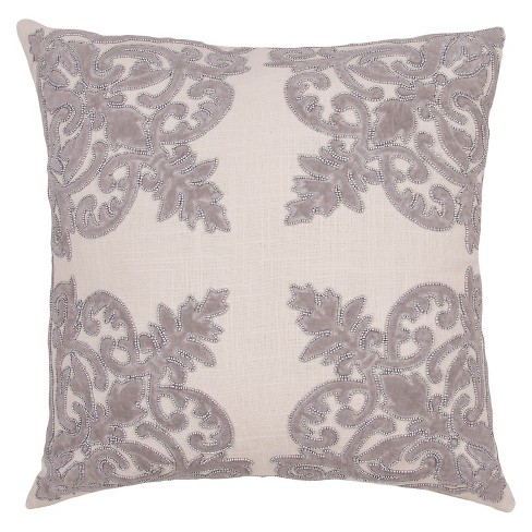 Inspired By Jennifer Adams Throw Pillow - Jaipur - image 1 of 1