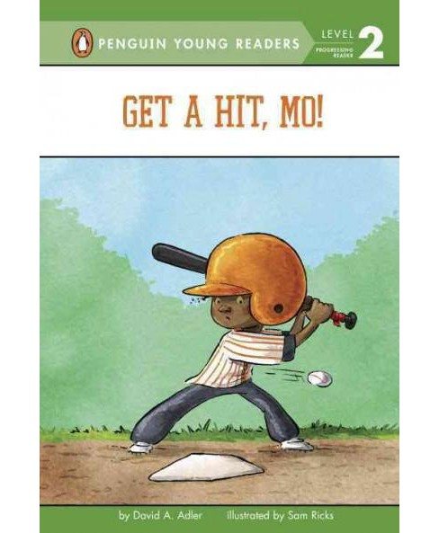 Get a Hit, Mo! (Hardcover) (David A. Adler) - image 1 of 1