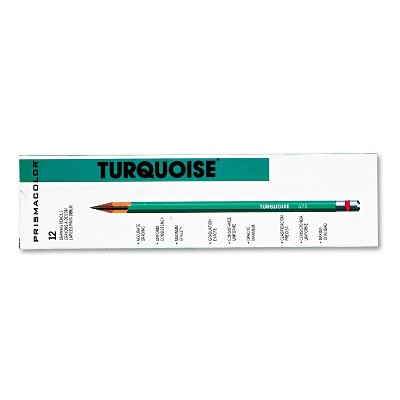 Prismacolor Turquoise Drawing Pencil 4H 1.98 mm Dozen 2269