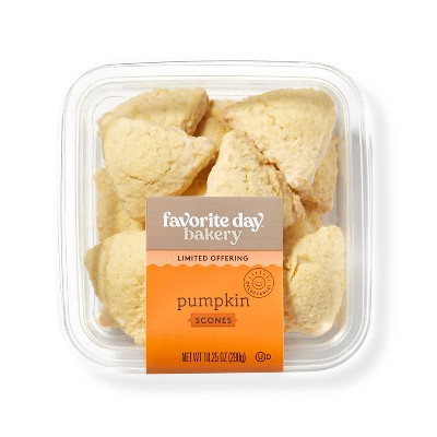 Mini Pumpkin Scones - 10.25oz - Favorite Day™