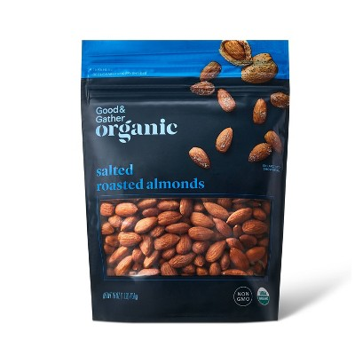 Organic Salted Roasted Almonds - 16oz - Good & Gather™