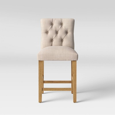 Brilliant 24 Brookline Tufted Counter Stool Threshold Inzonedesignstudio Interior Chair Design Inzonedesignstudiocom