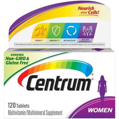 Multivitamins: Centrum Women