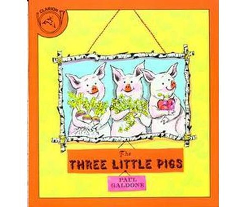 Three Little Pigs (School And Library) (Paul Galdone) - image 1 of 1