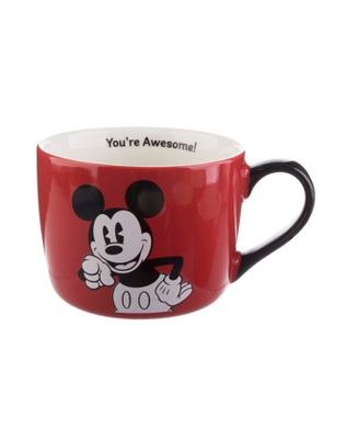 Disney Mickey Mouse & Friends You're Awesome Porcelain Coffee Mug 15oz - Formation Brands LLC