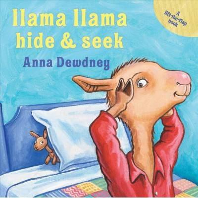 Llama Llama Hide & Seek - by Anna Dewdney (Board_book)