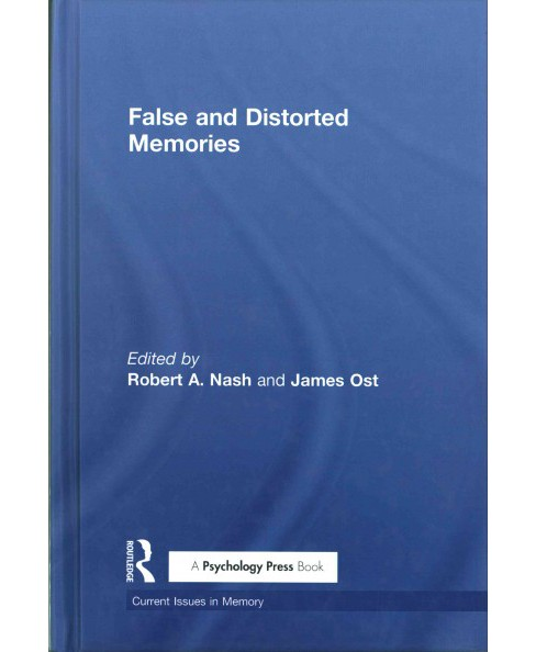 False and Distorted Memories (Hardcover) - image 1 of 1