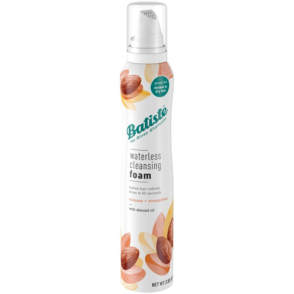 Image of Batiste Cleanse + Strength with Almond Oil Waterless Cleansing Foam - 3.6oz