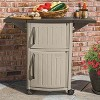 Suncast DCP2000 Portable Outdoor Patio Prep Serving Station Table and Cabinet - image 4 of 4