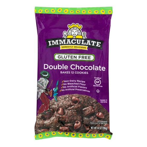 Immaculate Gluten Free Fudge Brownie Cookie Dough - 14oz - image 1 of 3