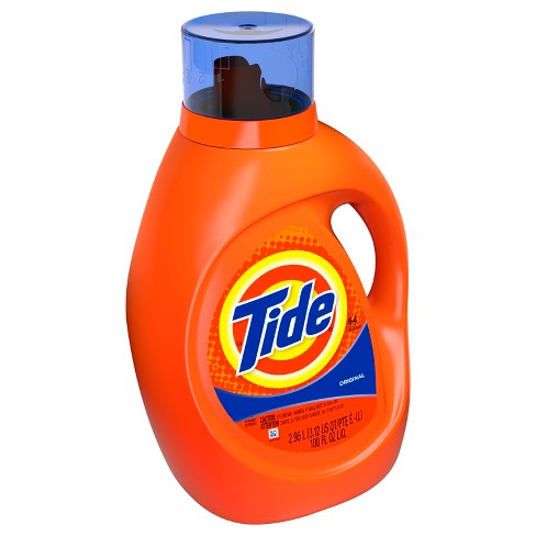 tide original liquid laundry detergent 100 fl oz target