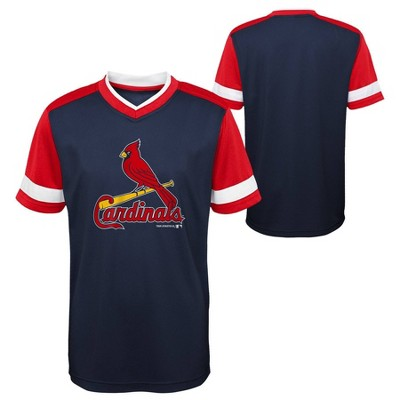MLB St. Louis Cardinals Boys' Sublimated Pullover