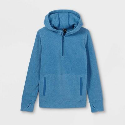 Boys' Fleece 1/4 Zip Pullover Hoodie - All in Motion™