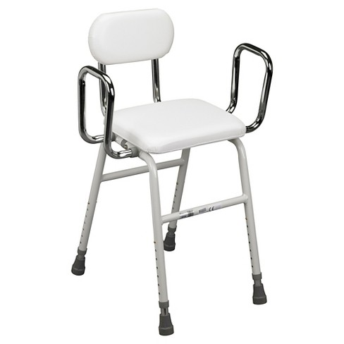 Drive Medical All Purpose Stool with Adjustable Arms - image 1 of 2
