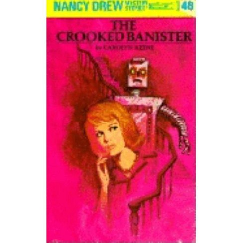 Nancy Drew 48: The Crooked Banister - (Nancy Drew (Hardcover)) by  Carolyn Keene (Hardcover) - image 1 of 1