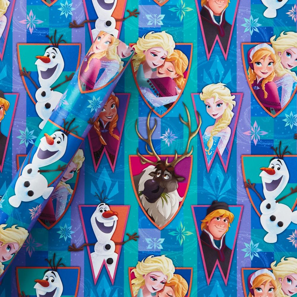 Hallmark Frozen Printed Gift Wrap, Multi-Colored