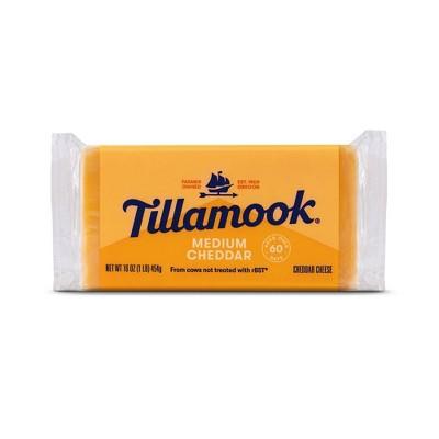 Tillamook Medium Cheddar Cheese Loaf - 16oz