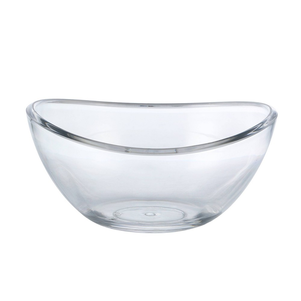 Image of Felli Bandeau Acrylic Salad Bowls 24oz Set of 6