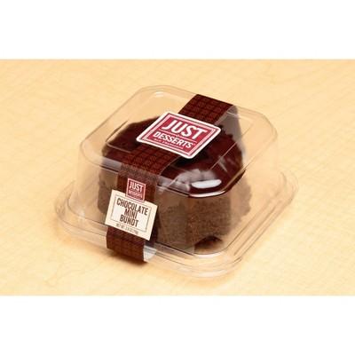 Just Desserts Mini Chocolate Bundt Cake - 2.8oz