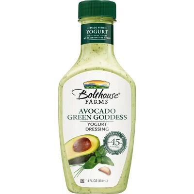Bolthouse Farms Avocado Green Goddess Yogurt Dressing - 14 fl oz