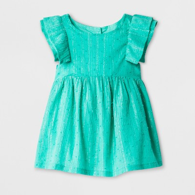 Baby Girls' A-Line Dress - Cat & Jack™ Green Baby