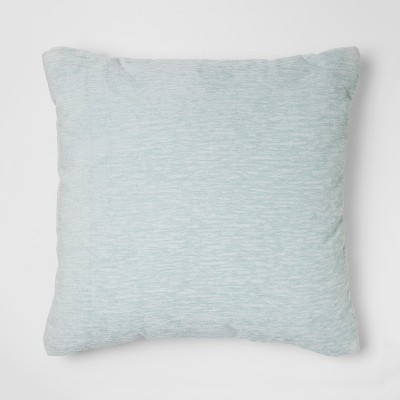 Blue Chenille Square Throw Pillow - Threshold™