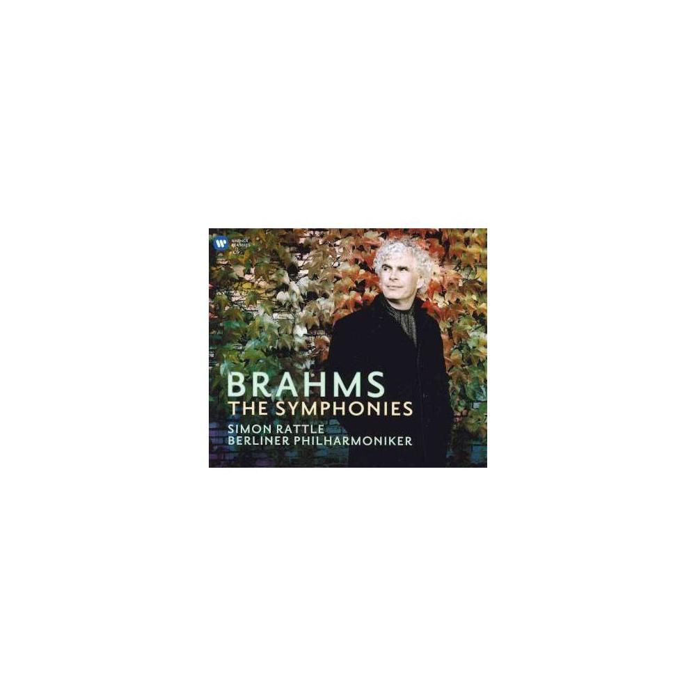 Simon Rattle - Brahms:Symphonies (CD)