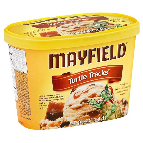 Mayfield Turtle Track Ice Cream - 1.5qt - image 1 of 1
