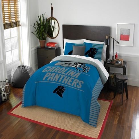 1e943796cfe NFL Carolina Panthers Northwest Draft Full/Queen Comforter Set : Target