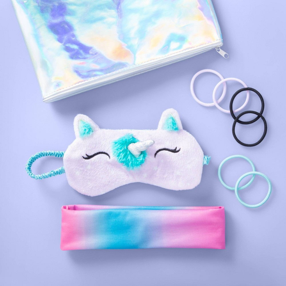 Image of Girls' Unicorn Sleepover Kit - More Than Magic , Girl's, Size: Small, MultiColored
