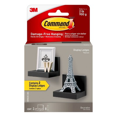 Command Display Ledges Black